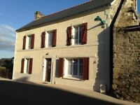 Fabulous old classic Stone House in St Tugdual in central Brittany in France. Only 40 mins to coast.