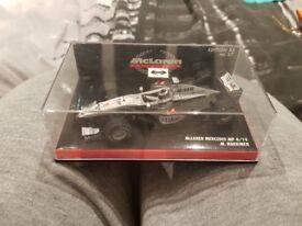 Mika Hakkinen - McLaren MP4-14 F1 Car by Hot Wheels, Rare Diecast Model