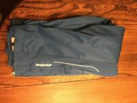 NEW Babolat Blue Tennis Tracksuit Bottoms, Size XXL