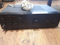 Aiwa Amplifer with Gale speaker Cable
