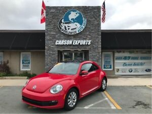 2014 Volkswagen Beetle Coupe WOW SHARP BUG 1.8T WITH SUNROOF! FI