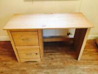 Solid Pine Desk - Mint