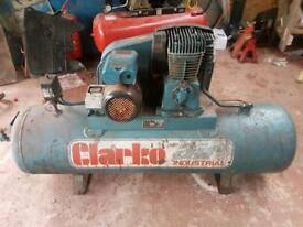 Clarke air compressor selling as spares or repairs