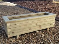 Planter - Hand Made 3'x1' Planter Tanalised timber (Pressure Treated) Throughout