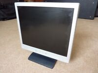 "17"" NEC Accusync LCD flat screen computer montor with built-in stereo speakers - Model 71VM"