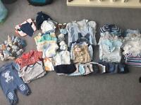Boys baby clothes 0-9 months