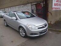 Vauxhall ASTRA CDTI Sport,Twintop Convertible,body kit,rear spoiler,1 owner car,full MOT,only 61,000