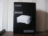 Sonos Bridge. Unused and in unopened box.