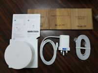 Google Whole Home Wi-Fi System, 4GB eMMC Flash Storage, 512MB RAM - Boxed with accessories