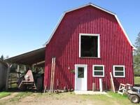 REDUCED....  108 ACRES 1625 STATION RD 299,000.00