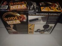 RODE NT2A STUDIO PACK - Boxed as new inc heavy duty stand - £180
