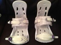 K2 5150 SNOWBOARD BINDINGS WOMEN WHITE