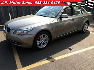 2009 BMW 5 Series 528i xDrive, . Automatic, Leather, Sunroof, AW