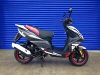 2016 SINNIS HARRIER 125 SPORTS SCOOTER , HPI CLEAR TIDY BIKE