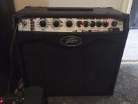 Peavey Vypyr VIP 2 Guitar Amplifier 40W & Peavey Sanpera 1 Footswtich