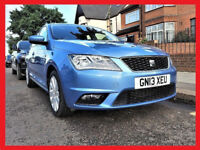 PCO -(£20 Tax)- 2013 Seat Toledo 1.6 TDi SE - 45000 Miles - Part Exchange OK -alike volkswagen golf