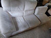Sofa set + storage.