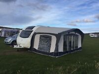 Bradcot Olympian Caravan Awning with A measurement of 915