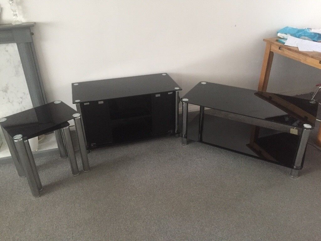 Set of Coffee Table, TV Stand and Side Tables (but can be bought ...