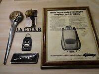 JAGUAR CAR PARTS AND EPHEMERA