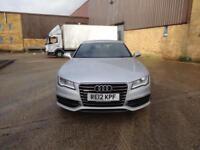 Audi A7 TDi Quattro S Line 5dr (silver) 2012