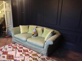 Pair of huge comfortable sofas