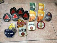 Job lot metal beer pump clips