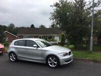 BMW 1 Series Silver - Diesel - 5 Door Hatchback