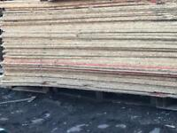 ☀️ RECYCLED OSB BOARDS 8by X 4 LONG DELIVERY AVAILABLE!
