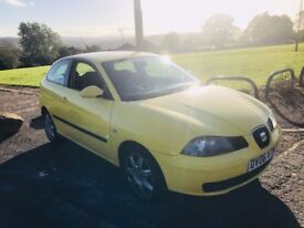 Seat Ibiza 1.4 16v Sport 3dr 2006 (06 reg), Hatchback MOT August 2018 Good Runner Cheap HPI Clear