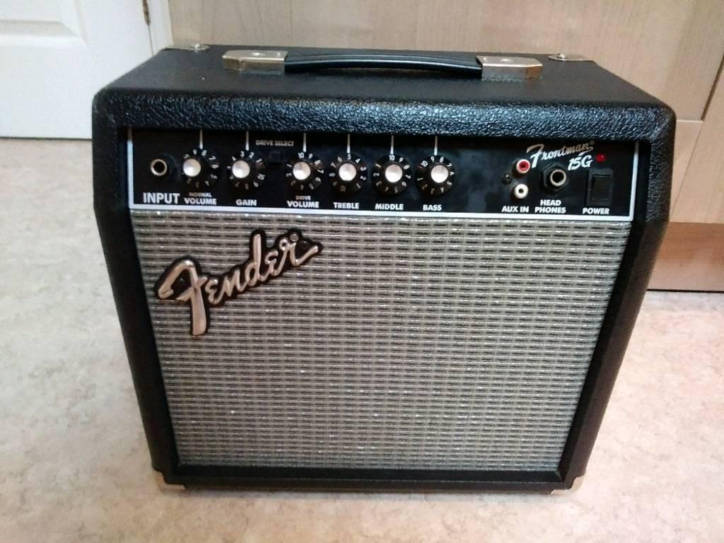Fender Frontman 15G Guitar Amp   in Norwich, Norfolk   Gumtree on