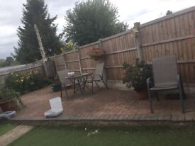 Block paving bricks. I will be taking up this patio so have the bricks to sell