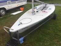 Laser Radial Sailing Dinghy Boat 179330