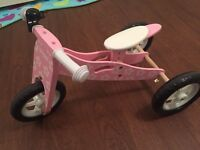 Balance trike/ bike, mint condition