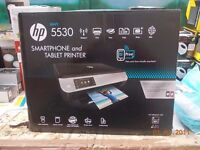 BOXED HP 5530 PRINTER WORKS PERFECTLY with 2 PARTIAL REFILS