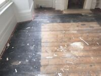 Reclaimed pine Victorian floorboards 20sqm