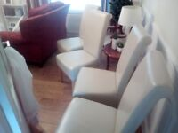 4 X Dinning chairs