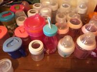 Bottles cups for baby