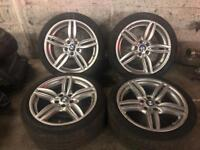 "Bmw 6 5 series 351M 19"" alloys wheels genuine 5x120 f10"
