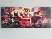Large Lego Movie Canvas Picture