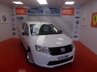 Dacia Sandero AMBIANCE(ONLY 12000 MILES) FREE MOT'S AS LONG AS YOU OWN THE CAR!!! (white) 2016