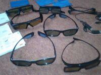 3D Samsung 3D active glasses