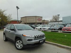 2015 Jeep Cherokee LOW KM'S!!! ONLY 19,599KM'S! - DUAL DVD