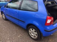 Vw polo 1.4 manual 5 speed petrol 3 doors, cheap to insure• great first car