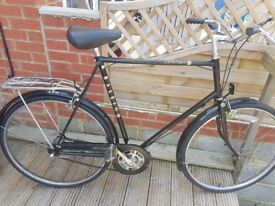 Gents Large Frame Vintage/City/Hybrid Raleigh Bicycle Hand Made