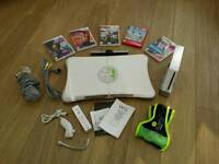 Wii games console with extras