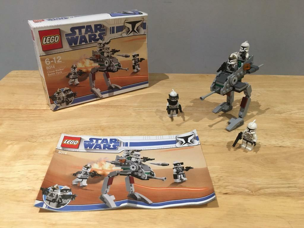 Lego Star Wars Clone Walker Battle Pack 8014 In Perth Perth And