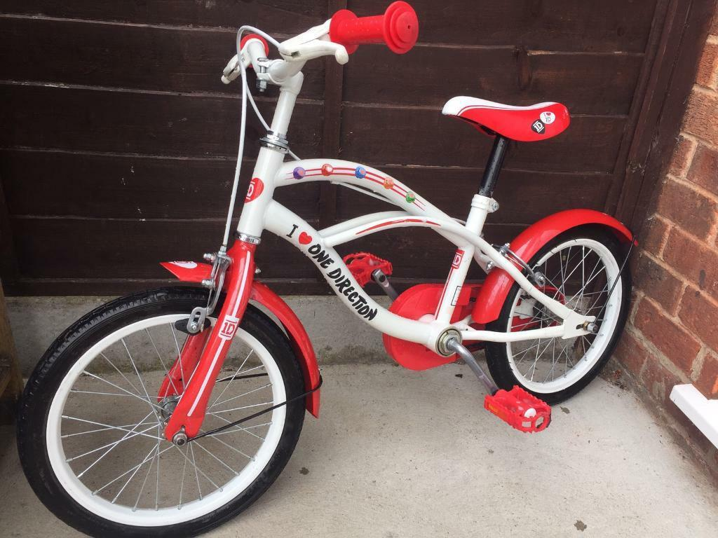 Girls One Direction Bike 16 Wheels In Lincoln Lincolnshire