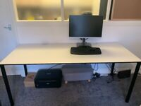 IKEA OFFICE CHAIRS AND DESK