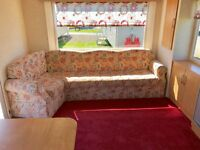 CHEAP STATIC CARAVAN FOR SALE , STUNNING PARK CLOSE TO THE SEA NEAR LARGS GLASGOW GREENOCK AYR TROON